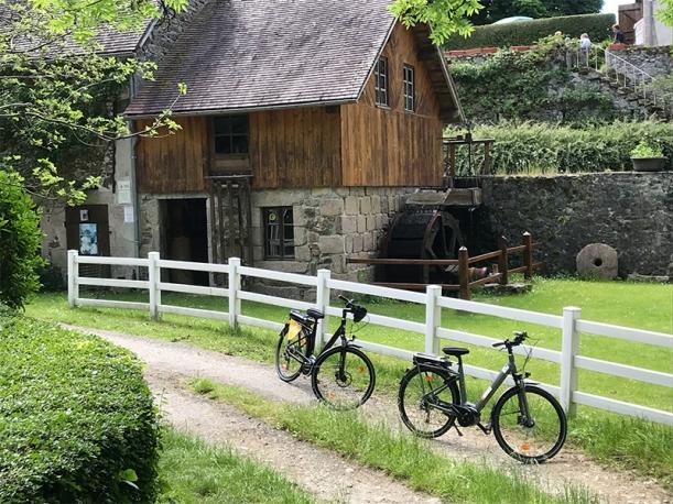 Circuit 7 : château Charles et pont de Menat5 : Val de Sioule